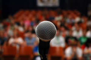 fear of public speaking - glossophobia