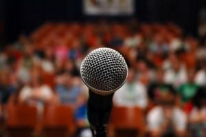 fear of public speaking - glossophobia