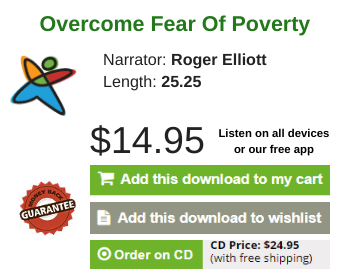 Overcome Fear Of Poverty