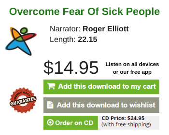 overcome fear of sick people